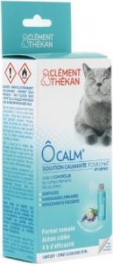 Clément Thékan Ô Calm - Solution Calmante en Spray pour Chat