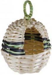 Nid exotique en forme de pomme