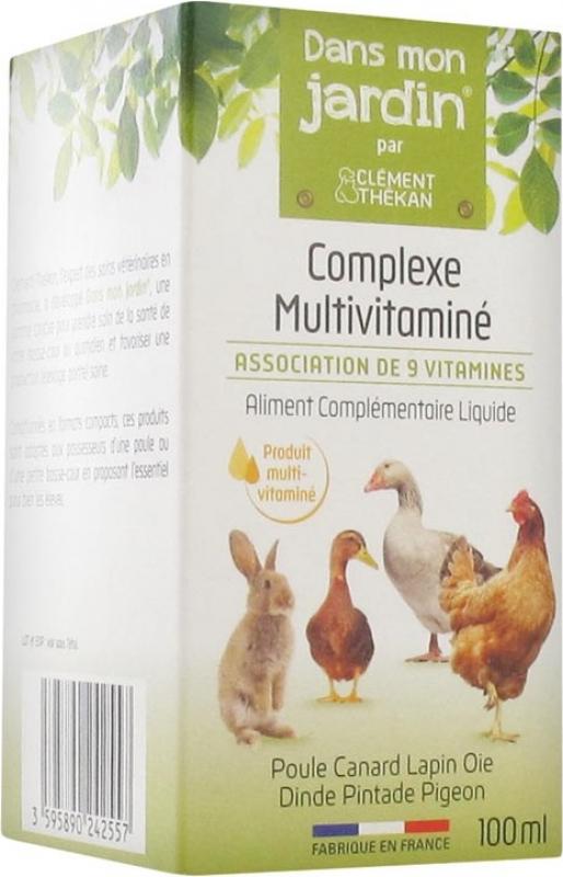 Clément Thékan - Dans Mon Jardin - Complexe Multi-vitaminé pour Animaux de Basse-cour