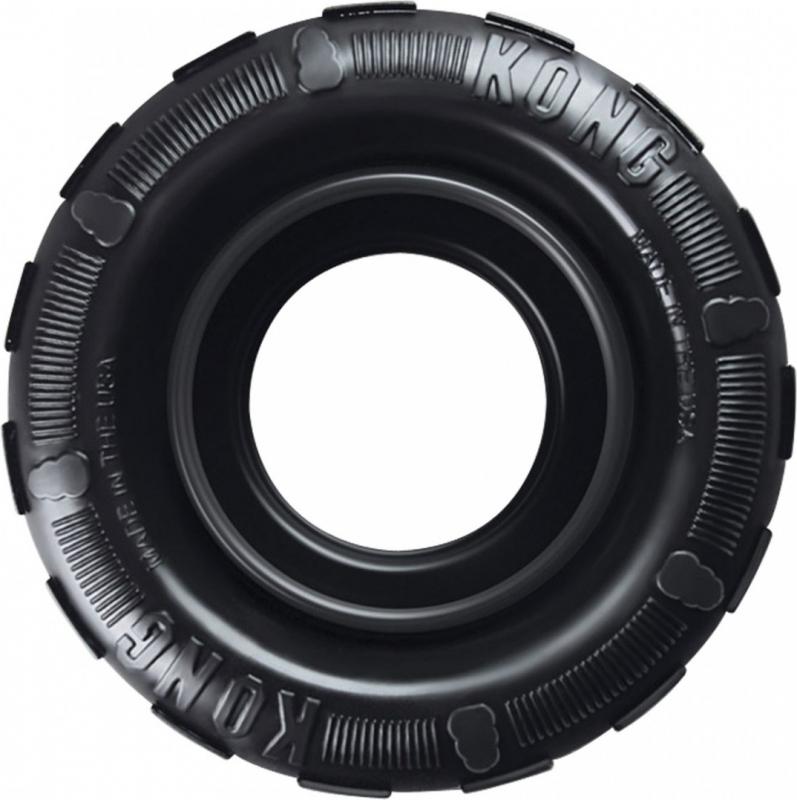 Jouet KONG Tires Noir - 2 tailles disponibles