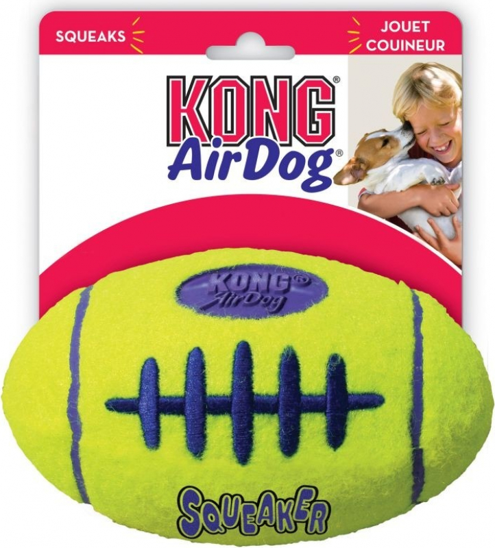 Jouet pour chien KONG Air Squeaker Football