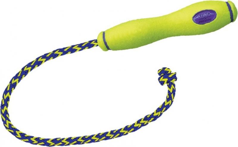 Jouet pour chien KONG Air Fetch Stick avec corde