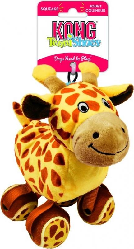 Jouet KONG Tennisshoes Giraffe