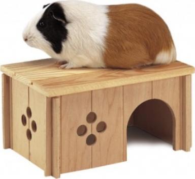 Maisonnette en bois pour rongeur - Plusieurs tailles