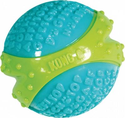 Kong corestrength Bola Divertido Juguete Perro de juego interactivo con textura para la limpieza de los dientes