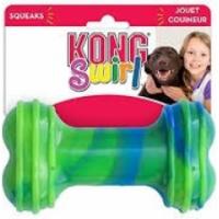 Jouet KONG Swirl Bone