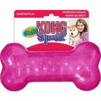 Jouet sonore pour chien KONG Squeezz® Crackle Bone