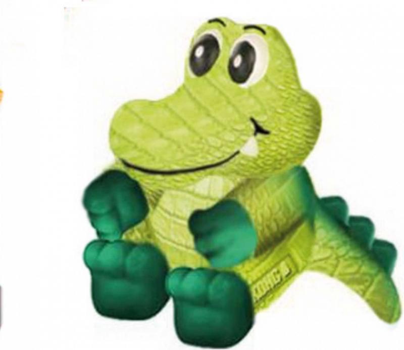 Jouet sonore pour chien KONG Wiggi™ Alligator