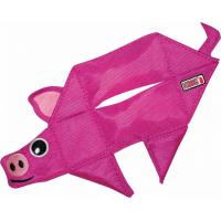 Jouet pour chien KONG Ballistic Flatz Cochon