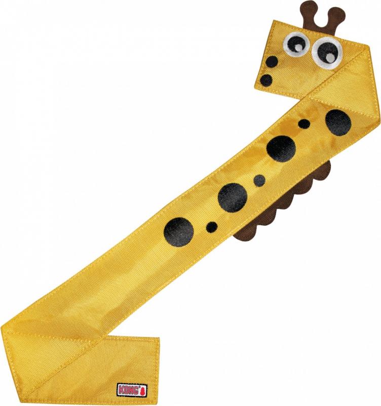 Jouet pour chien KONG Ballistic Flatz Girafe