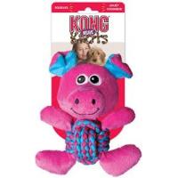 Jouet KONG Weave Knots Pig