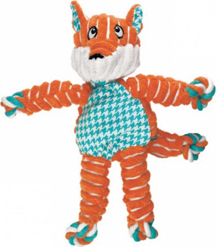 Jouet KONG Floppy knots fox