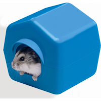 Maisonnette en plastique pour hamster