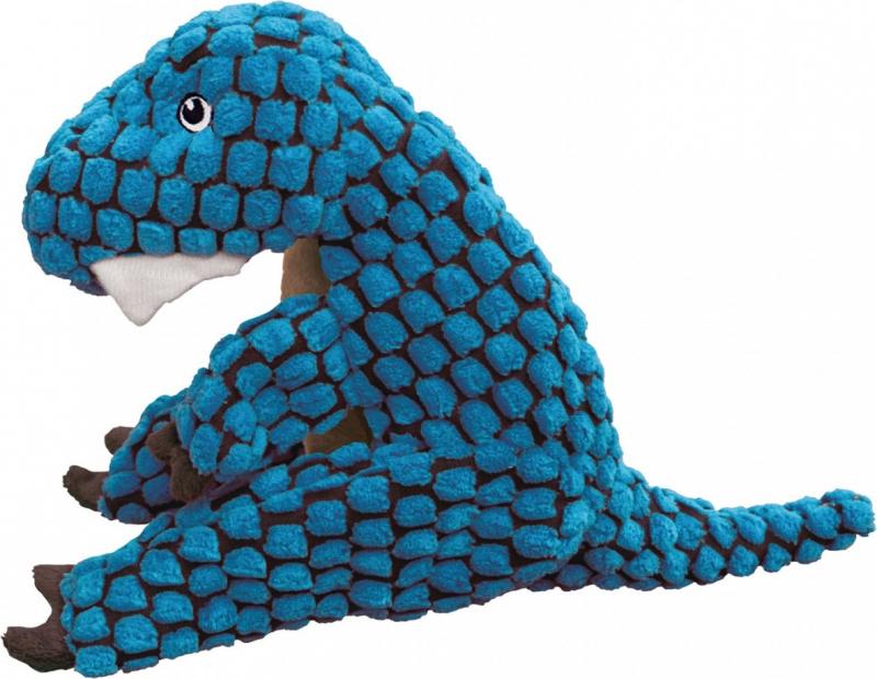 Peluche KONG chien DYNOS T-REX Blue