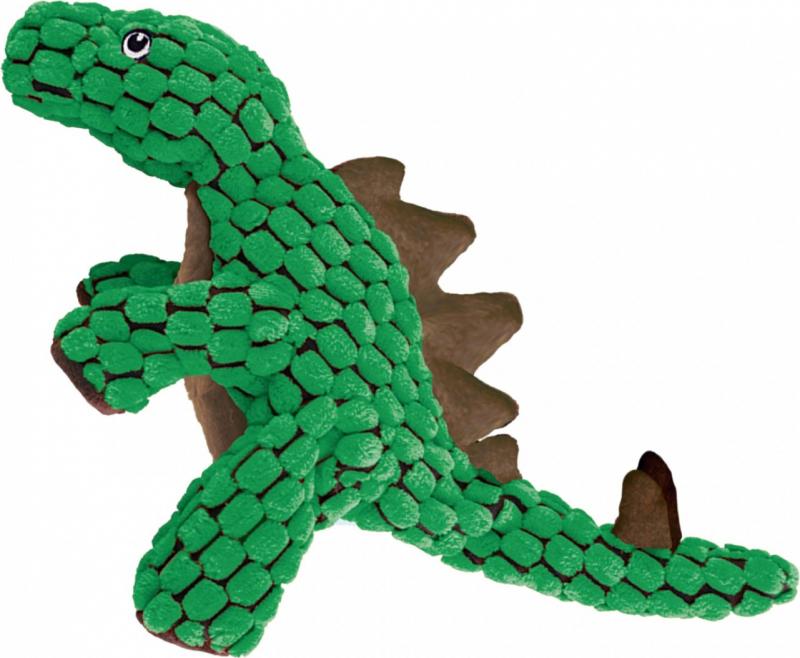 Jouet en peluche KONG Dynos Stegosaurus Green - deux tailles
