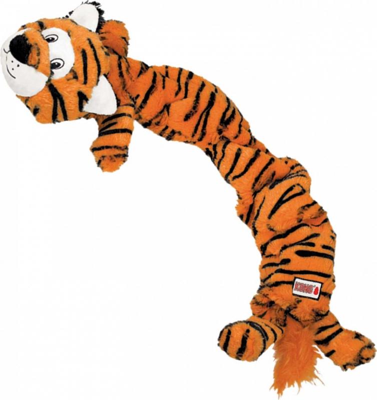 Peluche KONG Stretchezz Jumbo Tiger X-Large