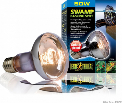 Exo Terra Swamp Basking Spot Ampoule anti-éclaboussure
