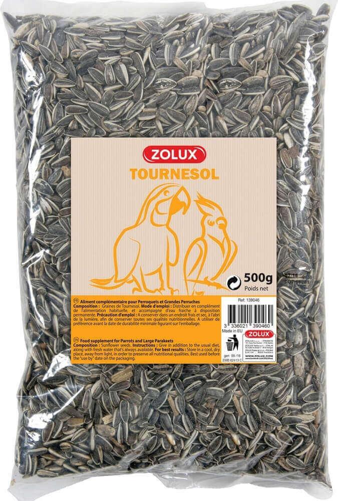 Graines de tournesol stri zolux nourriture oiseaux - Graines de tournesol pour oiseaux ...