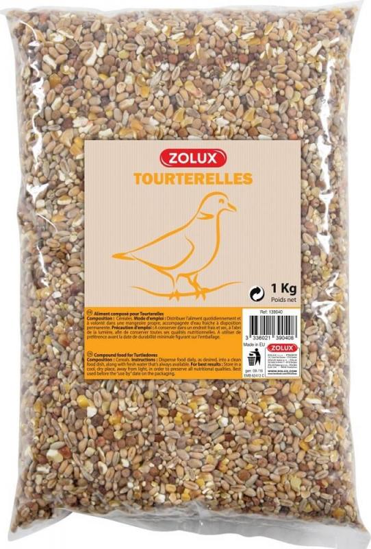 Semillas para palomas Zolux 5 kg