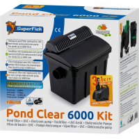 SuperFish Pond Clear Kit complet de filtration UV + Pompe