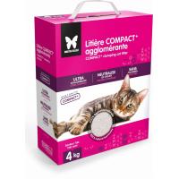 Litière pour chat Compact+ agglomérante à la bentonite