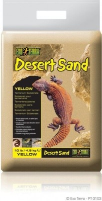 Substrat für Wüstenterrarien Exo Terra - gelb 4.5kg