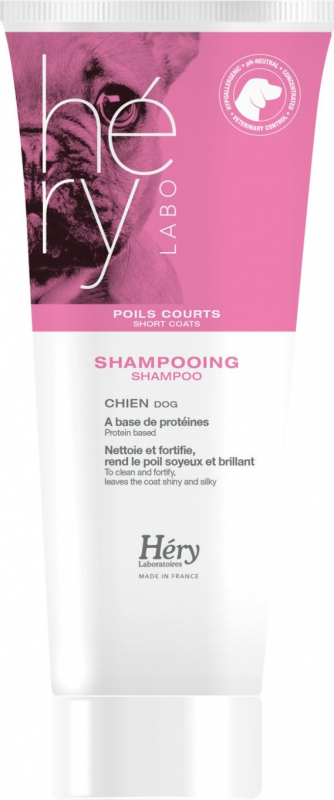 Shampoing pour chiens à poils courts Hery