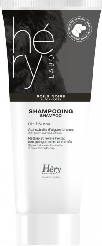 Shampoing et Après-shampooing Hery pour chiens aux poils noirs