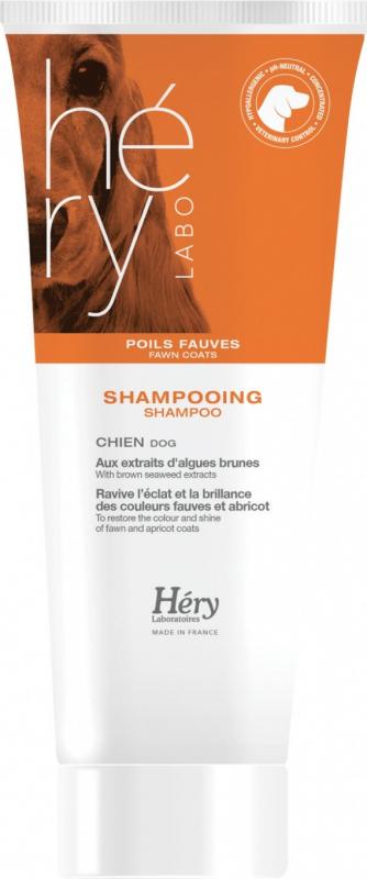Shampoo Hery per cane con peli fulvi