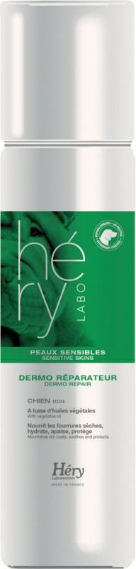 Soin dermo Réparateur Hery pour chien à la peau sensible