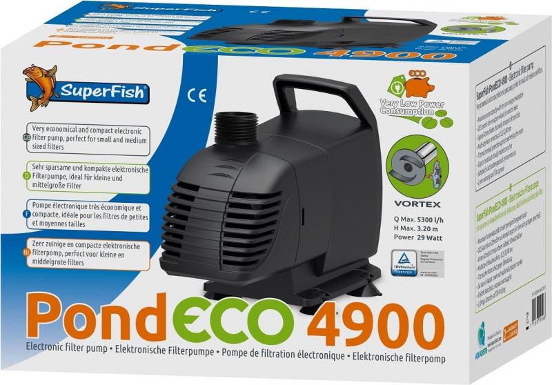 SuperFish PondECO Pompe électronique économique