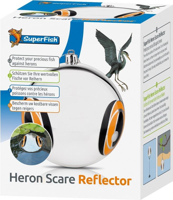 SuperFish Scare Reflector Boule anti-héron