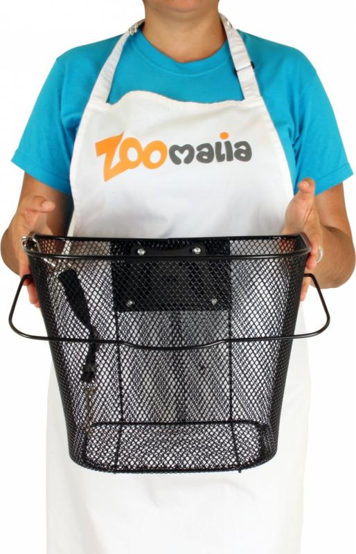 Panier vélo pour chien en métal Zolia Biky-002 avec attaches incluses