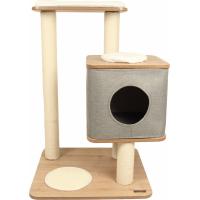 Arbre à Chat design Zolia Vanilla - H87cm