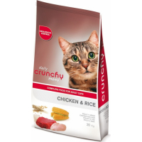 CRUNCHY Diary Chicken & Vegetables pour Chat Adulte