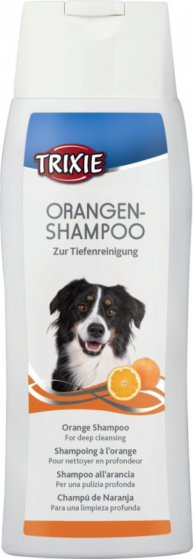 Shampoing à l'orange