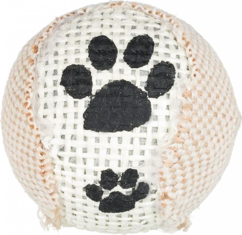 Pack de 3 Balles sonores en jute pour chat