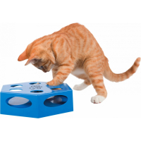 Jouet interactif pour chat Turning Feather