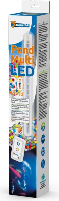 SuperFish Pond Multi LED Iluminación impermeable para estanque