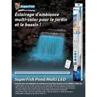 SuperFish Pond Multi LED Eclairage étanche pour bassin