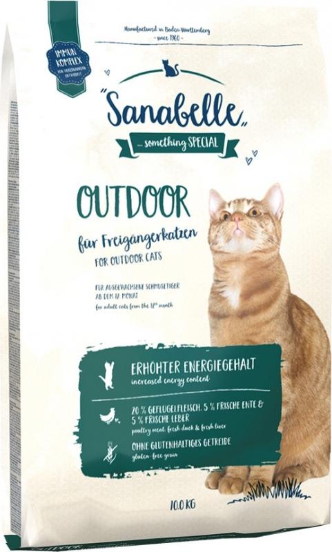 SANABELLE Outdoor au Canard pour chat adulte actif