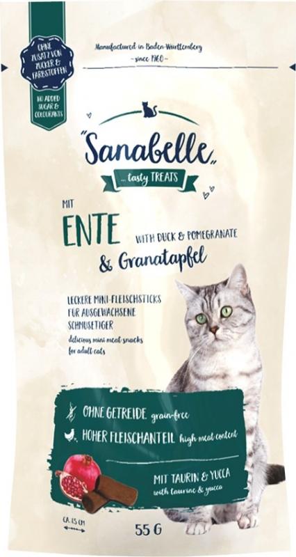 SANABELLE Mini Bâtonnet Canard et Grenade pour chat