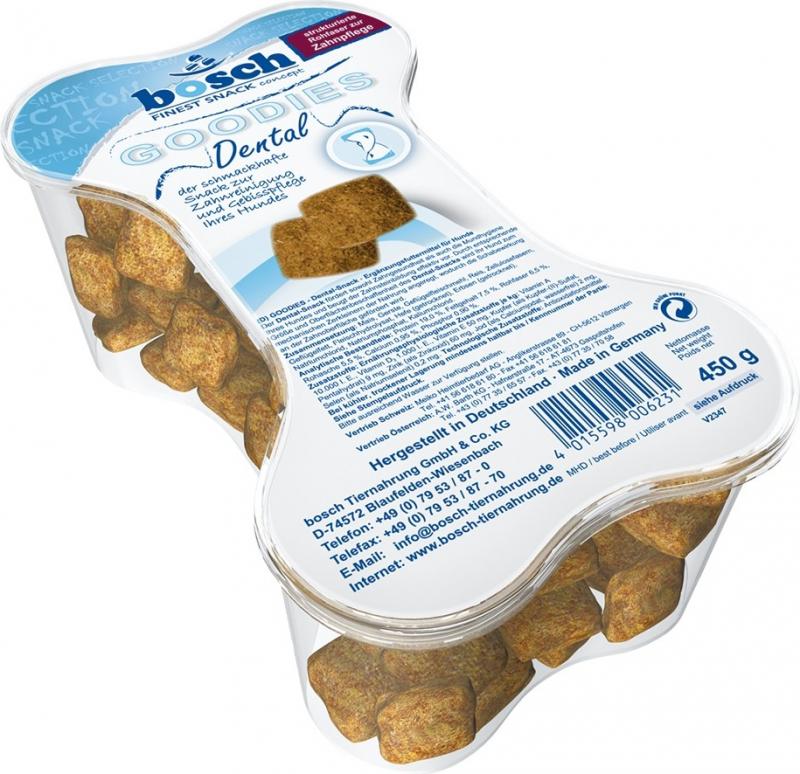 Friandises Naturelles BOSCH Goodies Dental pour Chien