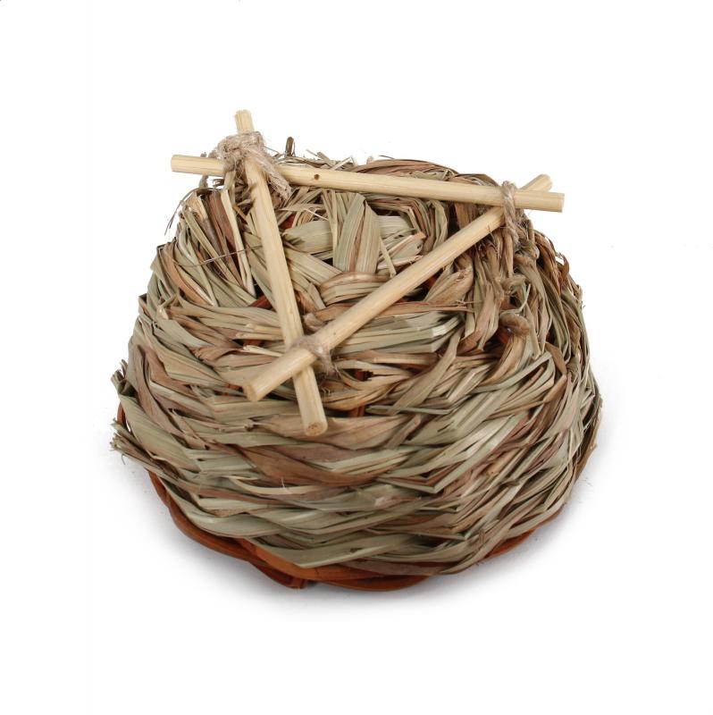 Rieten nest voor vogels, Zolia