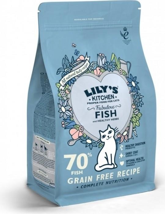 LILY'S KITCHEN Fabulous Fish au Poisson pour Chat Adulte