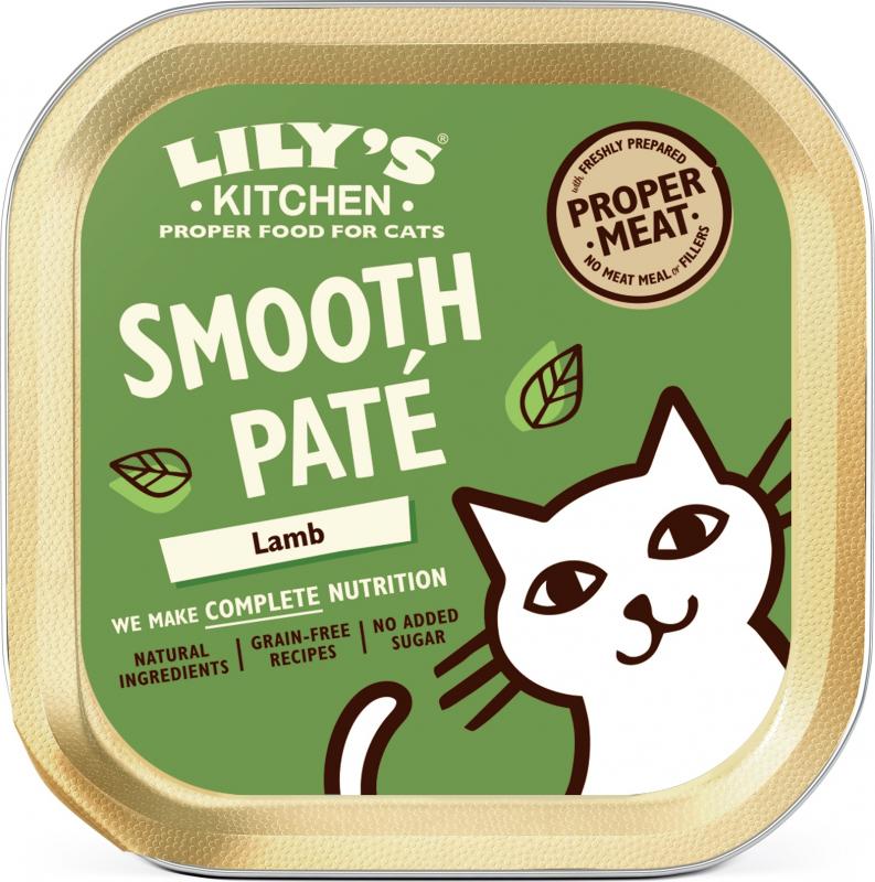 LILY's KITCHEN Graanvrij natvoer voor volwassen katten - 85g