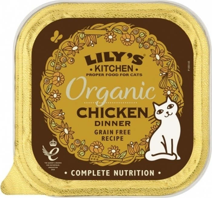 LILY'S KITCHEN Pâtée Organic Bio Dinner 85g pour Chat