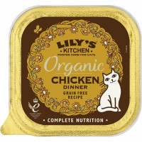 LILY'S KITCHEN Pâtée Organic Bio Dinner 85g pour Chat
