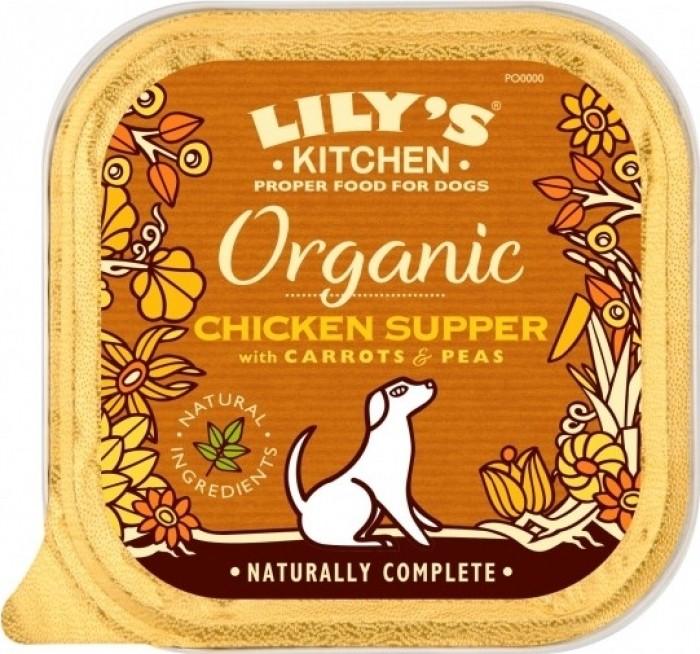 LILY'S KITCHEN Pâtée Organic Bio pour Chien et Chiot - 150g