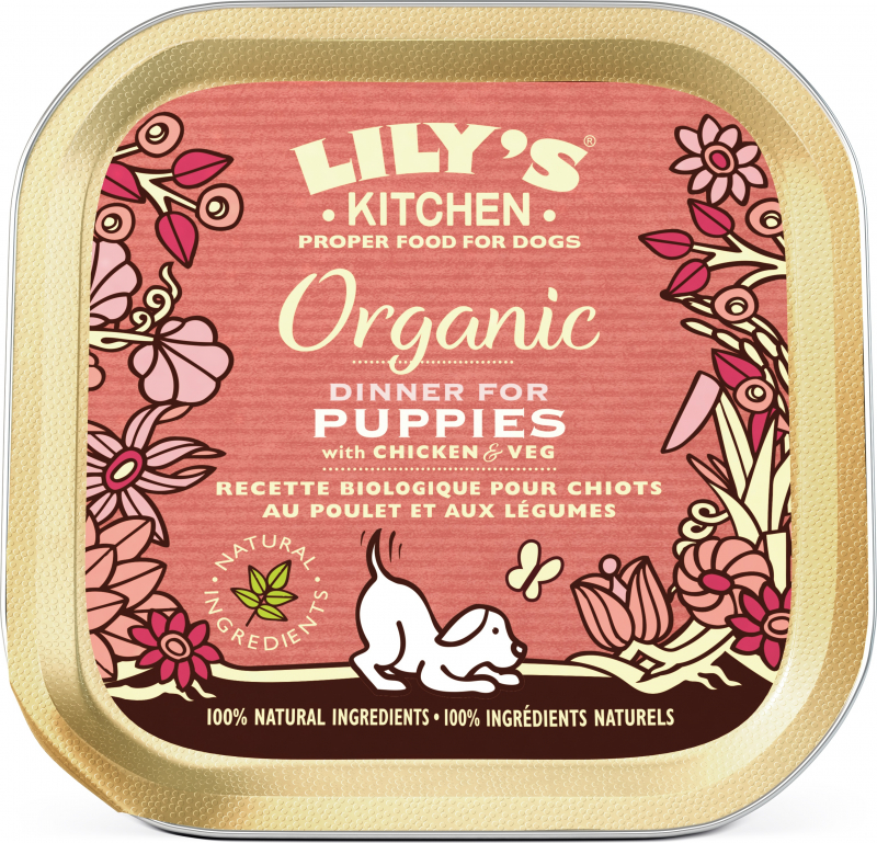 LILY'S KITCHEN Organic Bio Dog & Puppy - 150g